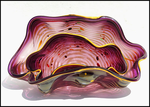"""Glass Seaform Pair"" by Dale Chihuly"
