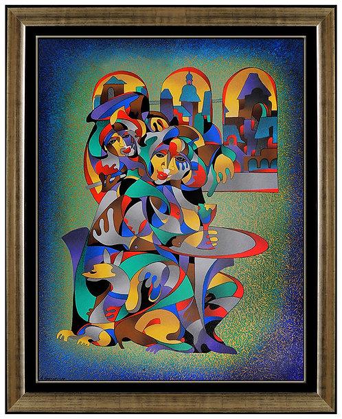 """""""The Wine Mixer"""" by Anatole Krasnyansky"""