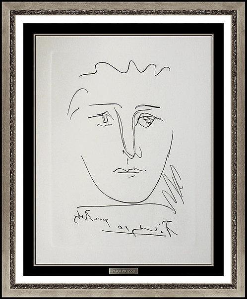 """""""L'Age de Soleil (Pour Ruby)"""" by Pablo Picasso"""