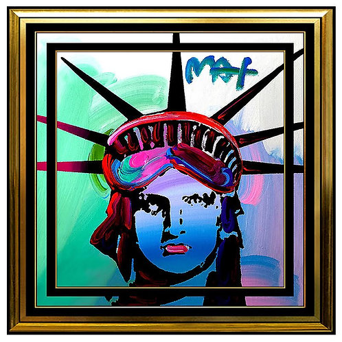"""Original Liberty Head"" by Peter Max"