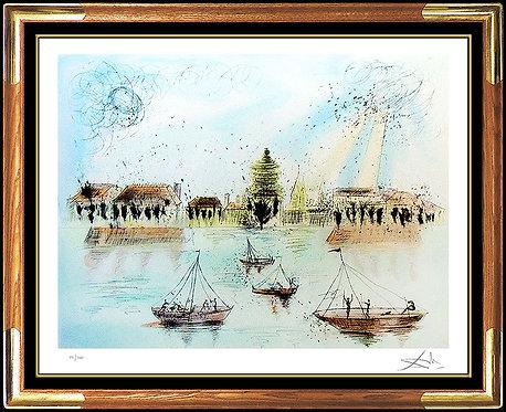 """""""Academie des Beaux Arts"""" by Salvador Dali"""