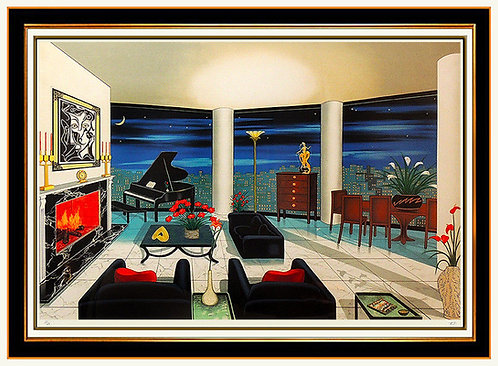 """Interior with Picasso"" by Fanch Ledan"