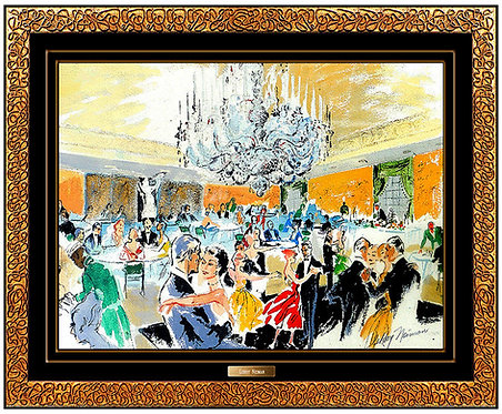 """Original Alive at the Pump Room"" by LeRoy Neiman"