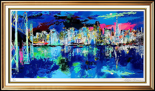"""San Francisco By Night"" by Leroy Neiman"