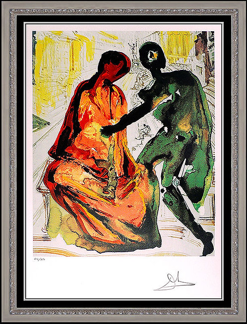 """""""Anthony and Cleopatra"""" by Salvador Dali"""