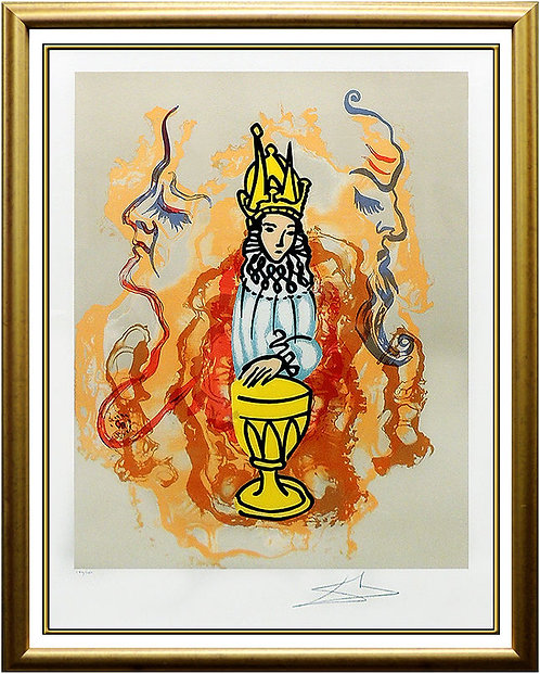 """Prince of Cups"" by Salvador Dali"