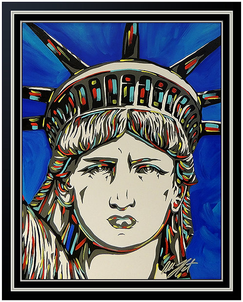 """Statue of Liberty Original"" by Allison Lefcort"