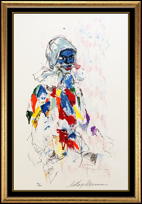 """Harlequin"" by Leroy Neiman"