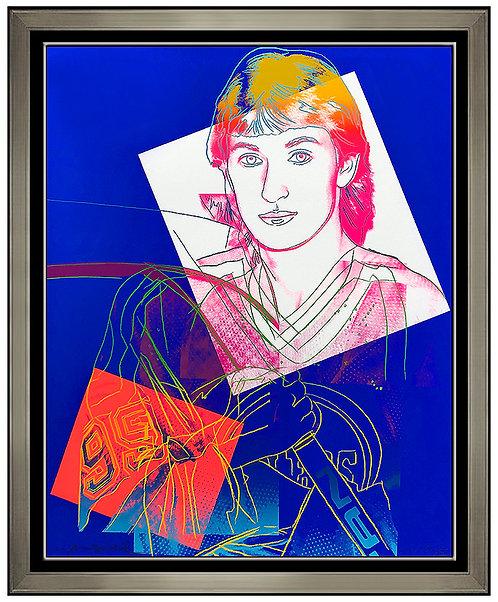 """""""Wayne Gretzky #99 (II.306)"""" by Andy Warhol"""