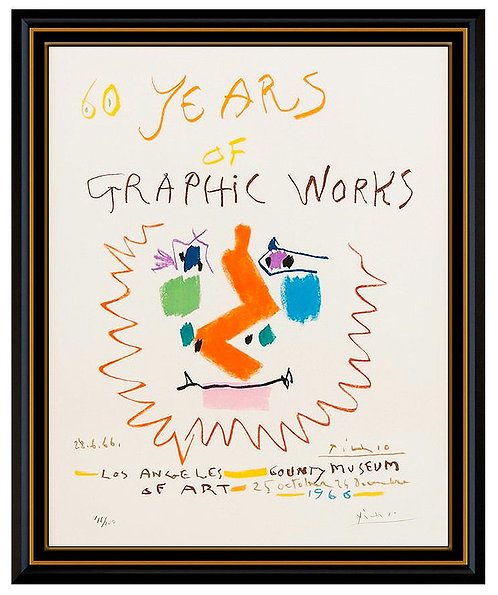 """60 Years of Graphics"" by Pablo Picasso"