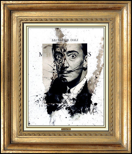 """Original Dali Self Portrait"" by Salvador Dali"