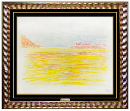 """Panoramic Coast"" by Joseph Stella"