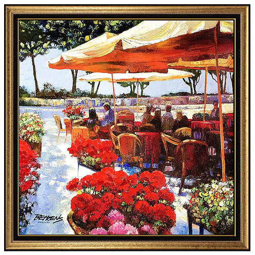 """Cafe Almafi"" by Howard Behrens"