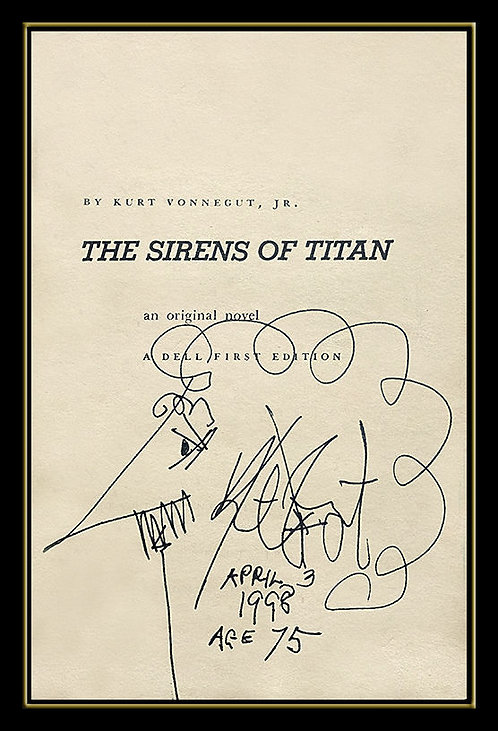 """The Sirens of Titan"" Kurt Vonnegut"
