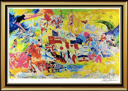 """Neiman's Montreal Olympics"" by Leroy Neiman"