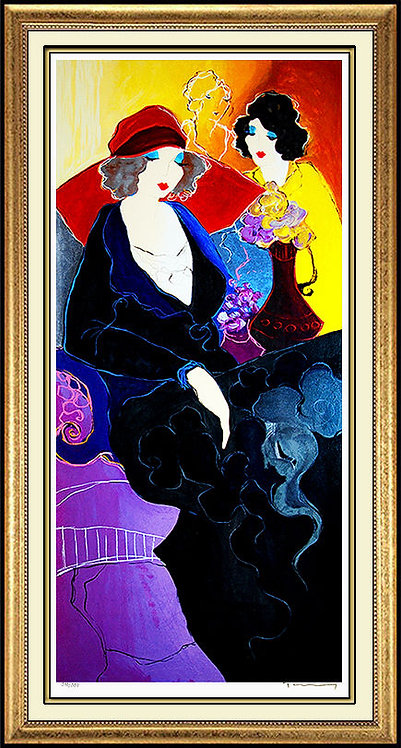 """""""Elegance in Red"""" by Itzchak Tarkay"""