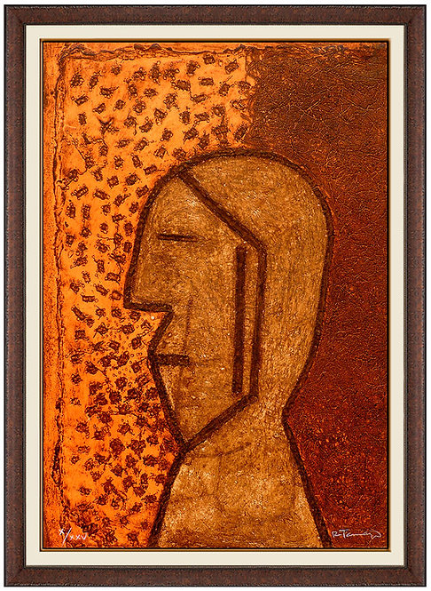 """Perfil"" by Rufino Tamayo"