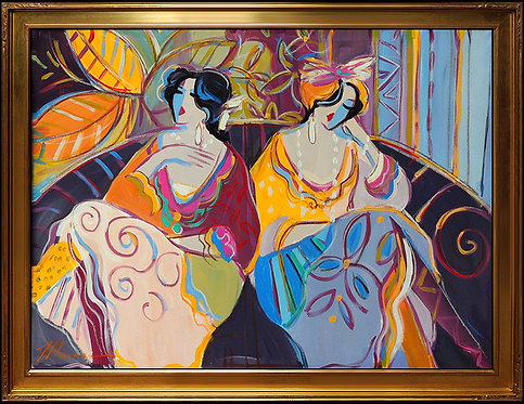 """Original Cafe Sisters"" by Isaac Maimon"