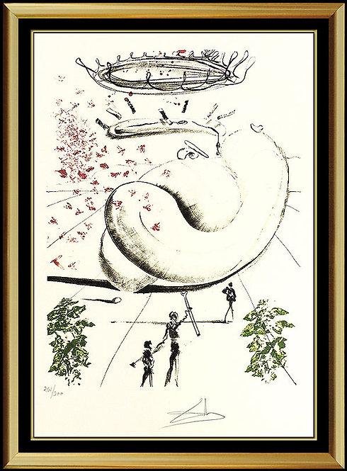 """""""Moscas"""" by Salvador Dali"""