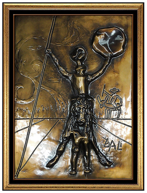 """Don Quixote"" by Salvador Dali"