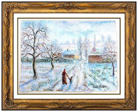 """""""Le Petit Baptiste..."""" by H. Claude Pissaro"""