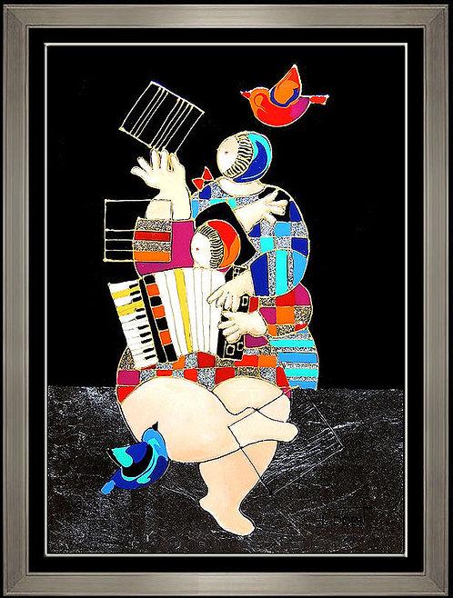 """Original Just For Joy 2"" by Dorit Levi"