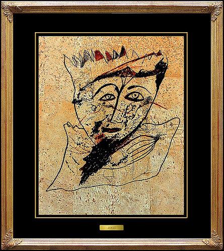 """The Royal King"" by Jamali"