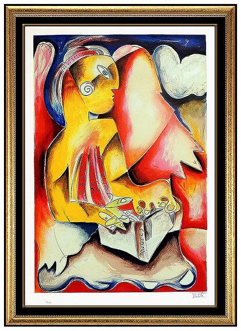 """Flashlight  from Heaven"" by Alexandra Nechita"