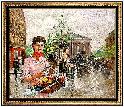 """Original La Madeleine Paris"" by Francois Gerome"