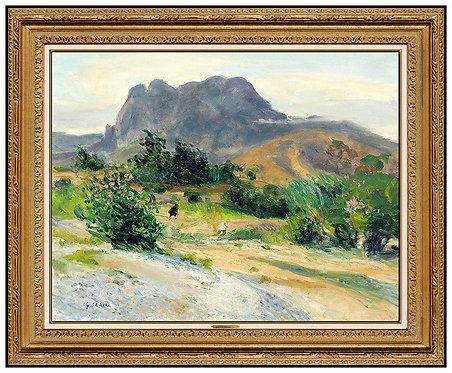 """""""La Montagne le Soir"""" by Gaston Sebire"""