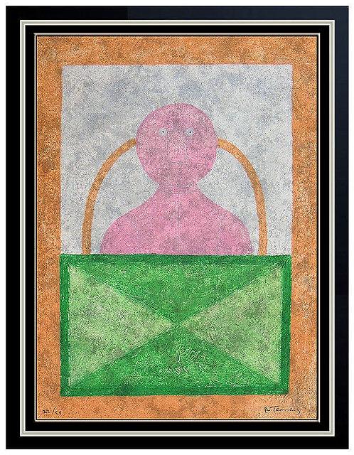 """""""Torso en Rosa"""" by Rufino Tamayo"""
