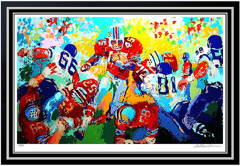 """""""Archie"""" by Leroy Neiman"""