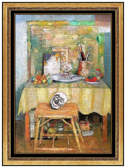 """Artist's Studio - Original"" by Andre Vignoles"