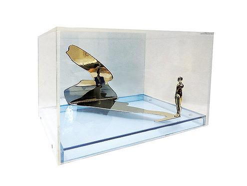 """Falling Man, Shadow Figure"" by Ernest Trova"