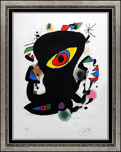 """""""Galerie Maeght - Barcelona"""" by Joan Miro"""