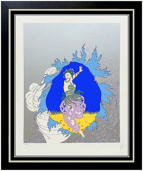 """""""The Coming Of Spring"""" by Erte"""