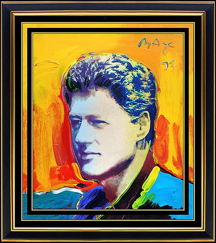 """Original President Bill Clinton"" by Peter Max"