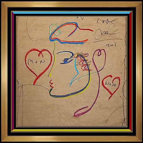"""Original Technicolored Beauty"" by Peter Max"
