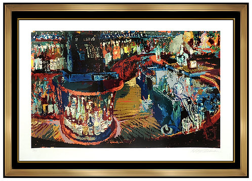 """Rush Street Bar"" by Leroy Neiman"