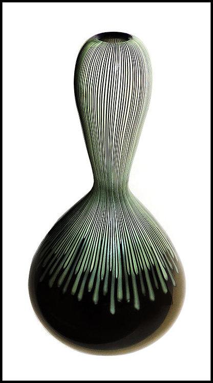 """Murano Glass Cannette Vase"" by Ludovico Diaz de Santillana"