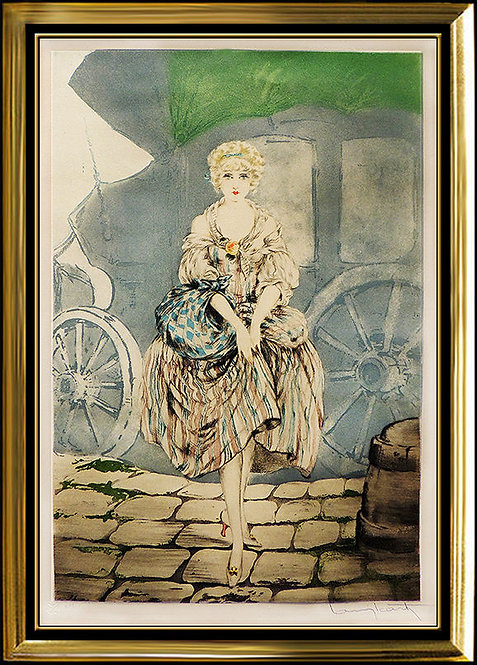 """""""Manon"""" by Louis Icart"""