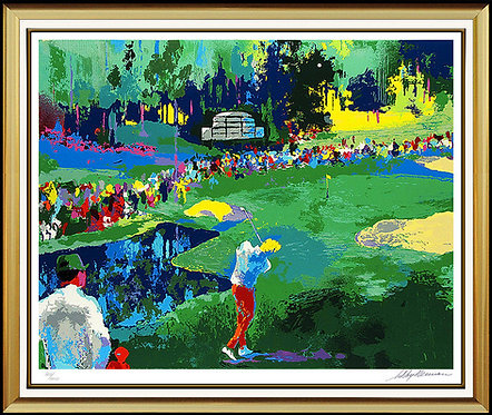 """""""16th At Augusta"""" by LeRoy Neiman"""