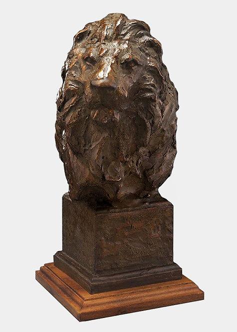 """""""Lion Head"""" by Sandy Scott"""