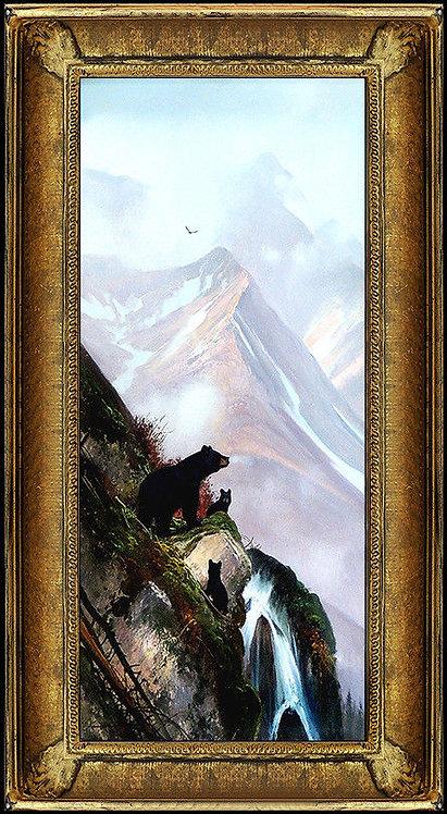 """In the Alaskan Range Original"" by Michael Coleman"