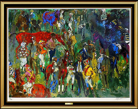 """Before the Race"" by LeRoy Neiman"