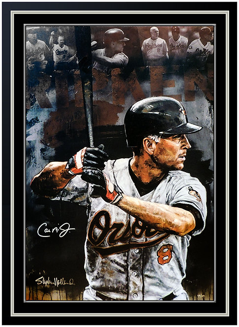 """Cal Ripken Jr. HOF"" by Stephen Holland"