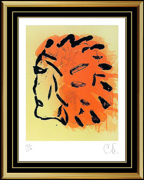 """""""Indian Head"""" by Claes Oldenburg"""