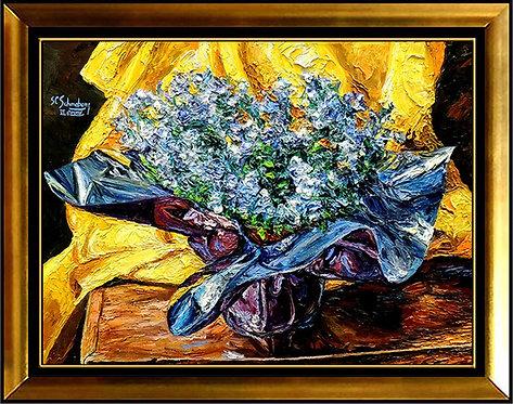 """Joyous Lisianthus"" by Sheldon Schoneberg"