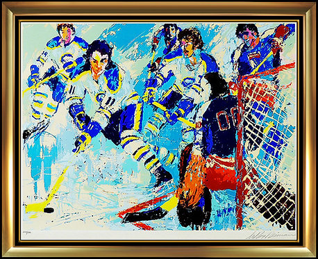 """""""French Connection"""" by Leroy Neiman"""