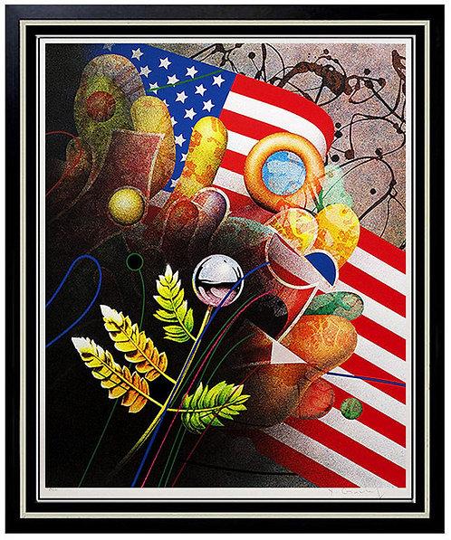 """""""Birth of a Nation"""" by Yankel Ginzburg"""